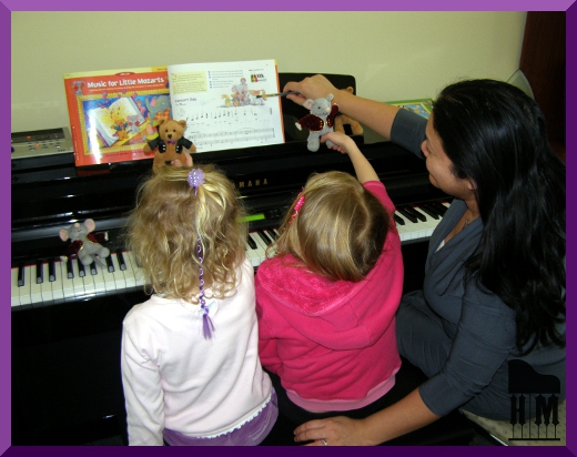 lesson music for little mozarts